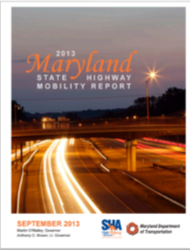 2013 Maryland Mobility Report